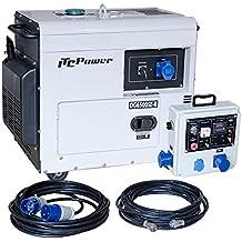 ITCPower - DG6500SE-LRS Generador Diesel para Apoyo Solar - IT-DG6500SE-LRS