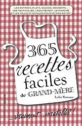 365 recettes faciles de grand-mère