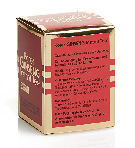 Roter Ginseng Instant-Tee N 50 g