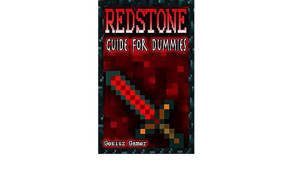 Surprising Redstone Guide For Dummies English Edition Ebook Geniuz Gamer Wiring Digital Resources Minagakbiperorg