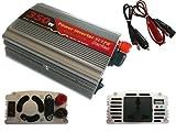 Kalea Informatique Spannungswandler, 12V auf 220V, 350W (Spitzenleistung 600W), ermöglicht die Verwendung einer 220-V-Steckdose im Auto