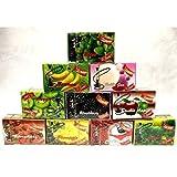 Desi Karigar Shisha Assorted Flavour for Hookah Pack of 10 (500 Gram)