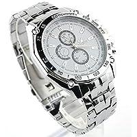 Men sports watches quartz hours date hand clock men full steel wristwatch