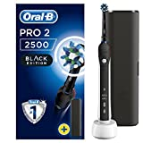 Oral-B PRO 2 2500 CrossAction Cepillo eléctrico recargable, 1 negro...