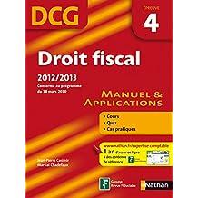 DROIT FISCAL EPREUVE 4 DCG