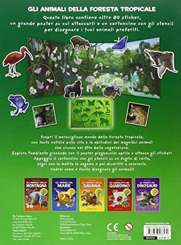 Libro gli animali della foresta tropicale amica natura - Gli animali della foresta pluviale di daintree ...