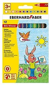 Eberhard Faber - Lápices de Colores (518712) (Colores Surtidos)