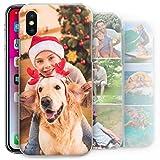 Hairyworm Foto Personalizada Funda de Móvil, Custom Imagen Tapa Dura, Personalizar con Imágenes - Transparente, Samsung Galaxy A6 (2018)