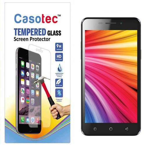Casotec Tempered Glass Screen Protector for Intex Aqua Star 4G  available at amazon for Rs.125