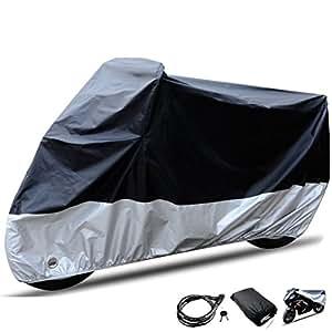 motorrad abdeckungen staubdicht motorradabdeckung carsun motorrad abdeckplane motorradgarage. Black Bedroom Furniture Sets. Home Design Ideas