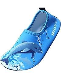SUADEX Unisex Niños Niña Zapato de Agua Zapatos de Playa Natación Surf  Escarpines Aire Libre Calzado de Playa… 218f0ef1ff9