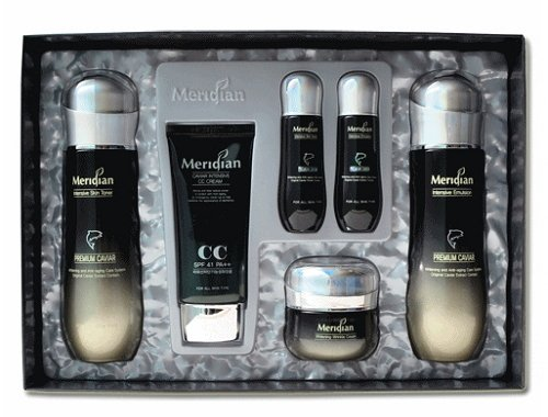 Korean Cosmetics_Meridian Caviar Intensive 4pc Gift Set