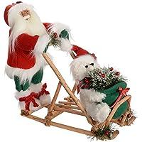 Slitta Di Babbo Natale Fai Da Te.Amazon It Babbo Natale Con Slitta Casa E Cucina