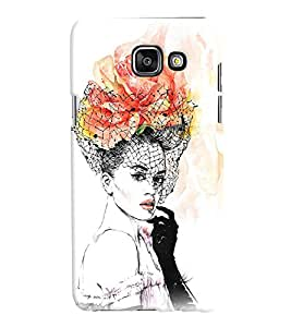 GADGET LOOKS PRINTED BACK COVER FOR SAMSUNG GALAXY A7 2016 MULTICOLOUR