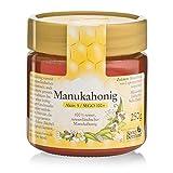 Manuka-Honig MGO 100+ 100 % rein, aus Neuseeland, mit antibakterieller Aktivität, Inhalt 250 g