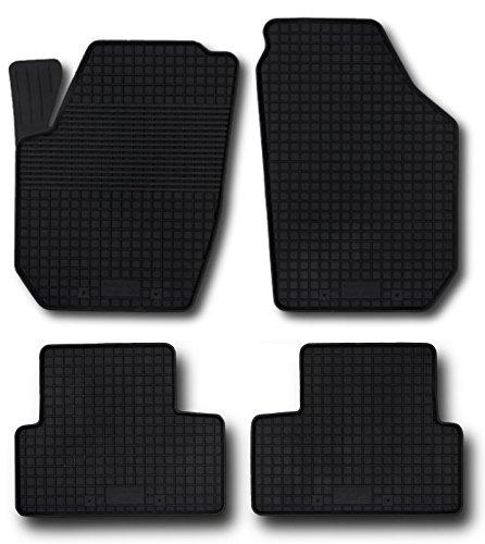 Preisvergleich Produktbild Fußmatten Gummimatten Winter Auto-matten Gummi hoher Rand 4-teilig