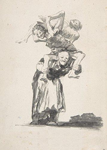 millesime-fransisco-goya-sorcieres-et-vieilles-femmes-environ-1800-sur-format-a3-papiers-brillants-d