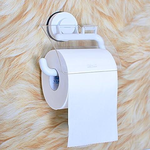 Titular de papel higiénico/Sucker soporte del papel higiénico/rebobinadora impermeable/cajas de pañuelos