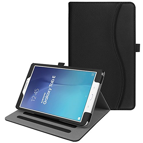 Fintie Samsung Galaxy Tab E 9.6 Case, [Corner Protection] Multi-Angle Viewing Stand Cover with Card Pocket Auto Sleep/Wake for Samsung Galaxy Tab E SM-T560 9.6-Inch Android Tablet