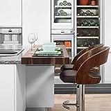 YZYDZ Stühle Moderne Möbel Barhocker mit großen Sitzen Frühstückshocker für Kücheninsel,1003