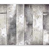 murando - Fototapete 400x280 cm - Vlies Tapete - Moderne Wanddeko - Design Tapete - Wandtapete - Wand Dekoration - Beton Wand f-A-0139-a-b