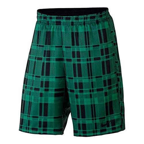 Nike Court 9 Zoll Shorts Men Beinkleid Green (324) / Black/Plaid