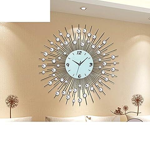 Montre De Mode De Salon/Horloges Murales Simples Et Créatives/Personnalité Mute Clock-A