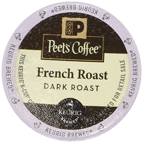 Peet's Coffee French Roast Single Cup Coffee for Keurig K-Cup Brewers 40 count