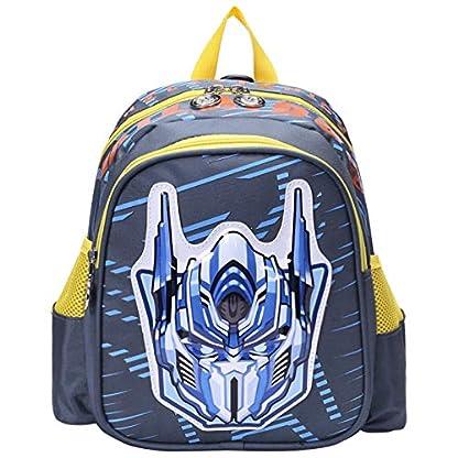 51Ms6Jk4LNL. SS416  - Mochila Escolar Para Niños Adolescentes Ligeros Transformers Mochilas Para Niños Y Niñas Bolsas Escolares De 3-8 Años