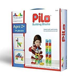 Toybridge Pilo Bloques de construcción 24pc Set