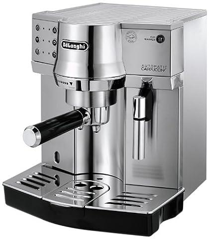 DeLonghi EC 860.M Espresso-Siebträgermaschine (1450 Watt) silber