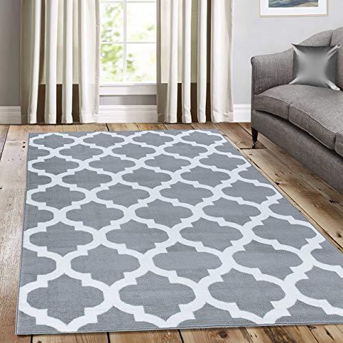 A2z Schnellspanner Teppich, Teppiche Silber 120x 170cm-22,9cm X53'12,7cm FT Modische Kollektion ohne Grenzen Bereich Teppich -