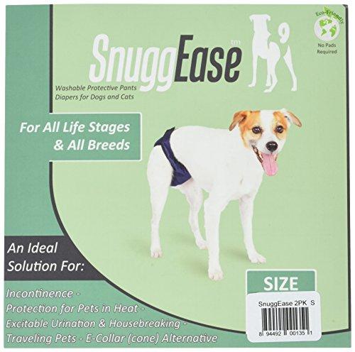 Integrated Pet Solutions SnuggEase Washable Dog Windel, Value Pack, klein -