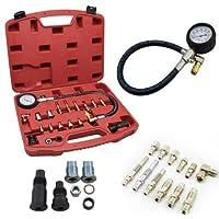 HENGDA® Comprobador de compresión Diesel kompressionstester Juego Tester ...