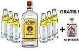 Gin Tonic Set - Finsbury London Dry Gin 70cl (37,5% Vol) + 6x Schweppes Tonic Water 200ml + Siegfried Gin mini 4cl (41% Vol)