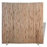 vidaXL Séparateur de Pièce/Panneau de Clôture Bambou Brise-Vue de Balcon