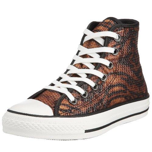 Converse Chuck Taylor Unisex - Erwachsene Fashion Sneaker  Braun (Tiger)
