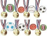 KSS 8x Medaillen und 8x Fußball-Geduldspiel Mitgebsel Mitbringsel Kindergeburtstag