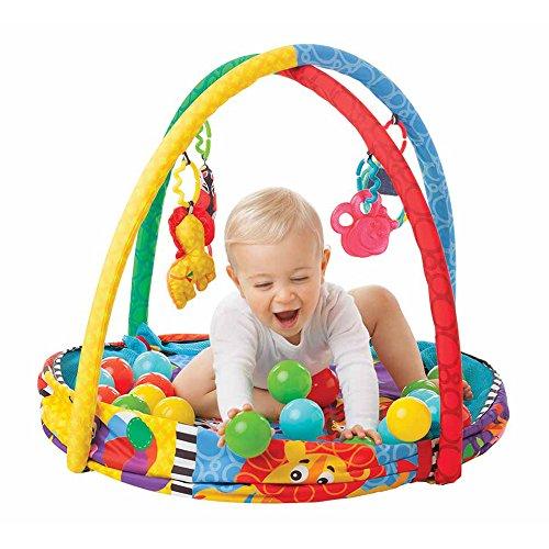 Playgro 0184007 - Playset con bolas, diseño safari
