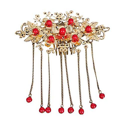 chinesischen alten Kostüm Kopfschmuck Hochzeit Schmuck-B1 (B1 Kostüm)