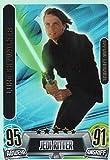 STAR WARS FORCE ATTAX MOVIE CARD 2 LIMITIERTE AUFLAGE KARTE LUKE SKYWALKER LE1