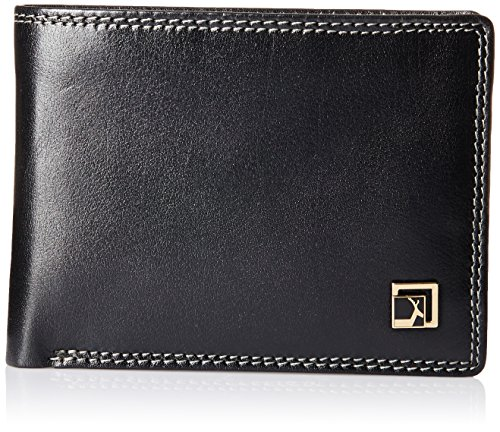 Da Milano Black Men's Wallet (MW-0420M_BLACK_BUF)