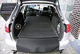 teileplus24 2904 Kofferraummatte 3-teilig mit Ladekantenschutz und Rückbankschutz