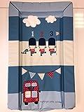 East Coast - Cambiador unisex impermeable para bebé con bordes elevados – hermoso azul «My Favourite Soldier»