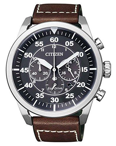 Citizen Analog Black Dial Men's Watch-CA4210-16E