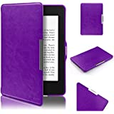 Kindle Paperwhite Hülle, Swees Ultra Slim Schutzhülle Smart Case für Amazon alle neue Kindle Paperwhite 2015 300 PPI 3.Generation/2014/2013/2012, mit Auto Sleep Wake Funktion, Lila
