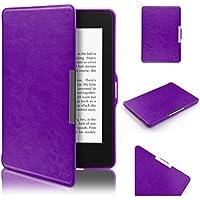 Kindle Paperwhite Hülle, Swees Ultra Slim Schutzhülle Smart Case für Amazon alle neue Kindle Paperwhite 2015 300 PPI 3.Generation/2014/2013/2012, mit Auto Sleep Wake Funktion, Lila