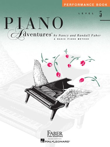 Piano adventures performance book level 5 piano