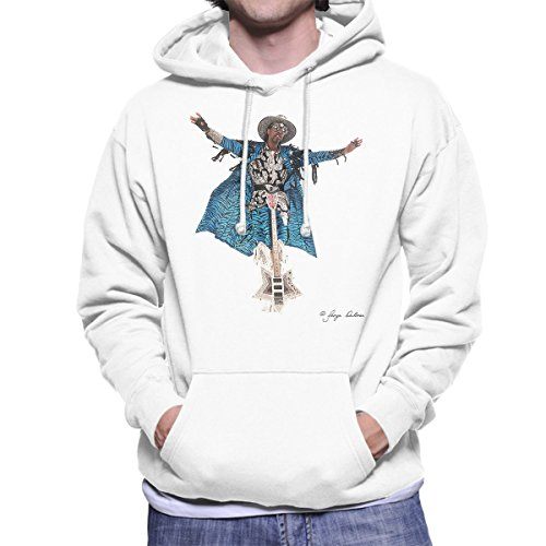 George DuBose Official Photography - Bootsy Collins Guitar Men's Hooded Sweatshirt