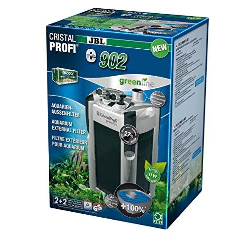 JBL Außenfilter für Aquarien von 90-300 Litern; CristalProfi e902 greenline; 60282